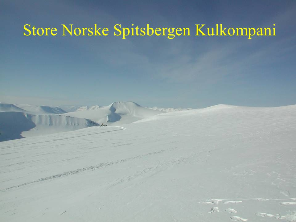 Store Norske Spitsbergen Kulkompani