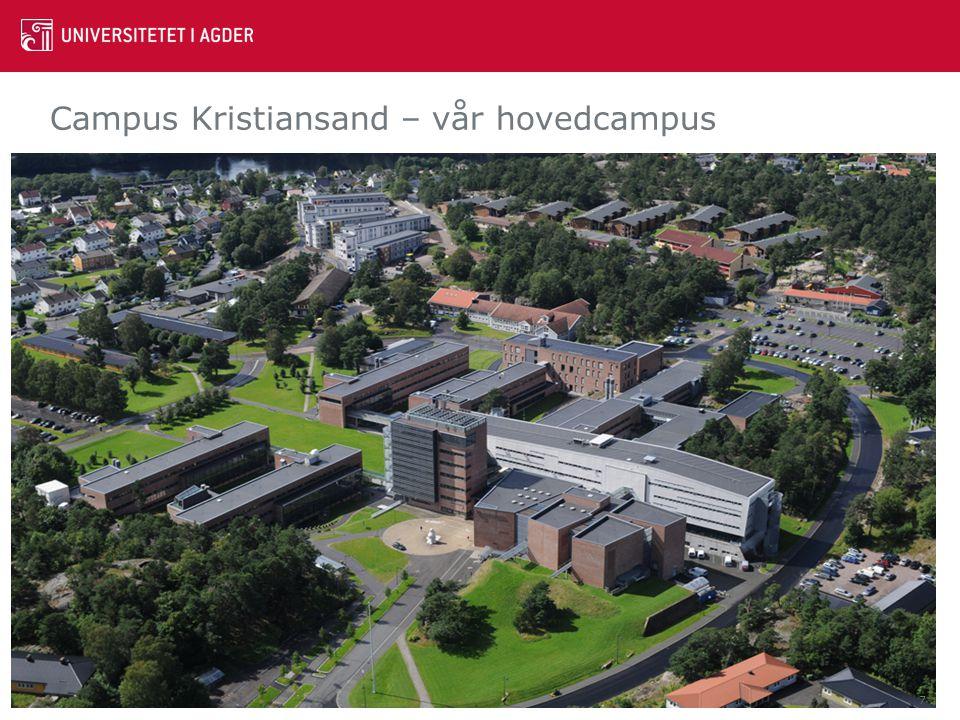 Campus Kristiansand – vår hovedcampus