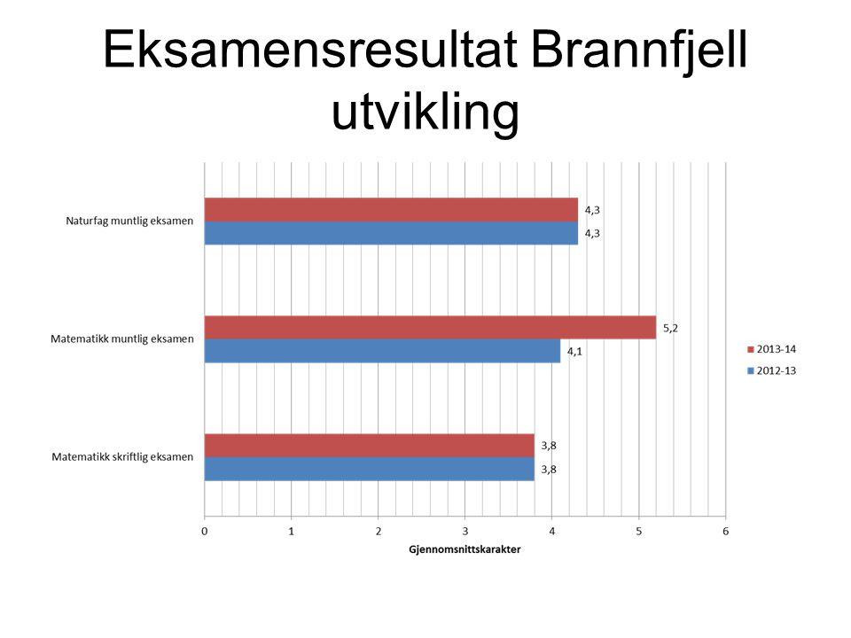 Eksamensresultat Brannfjell utvikling
