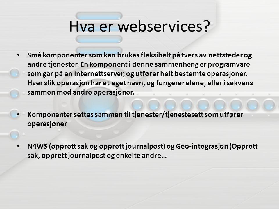 Hva er webservices