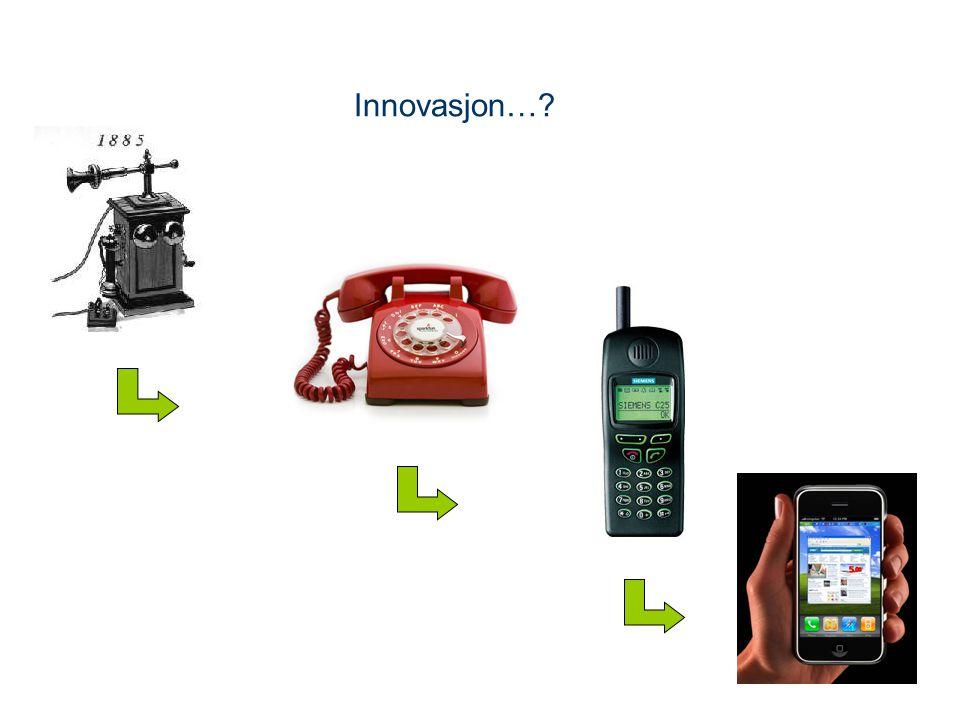 Innovasjon…