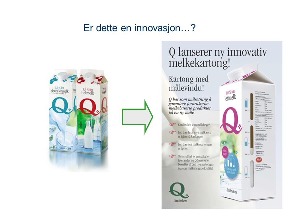 Er dette en innovasjon…