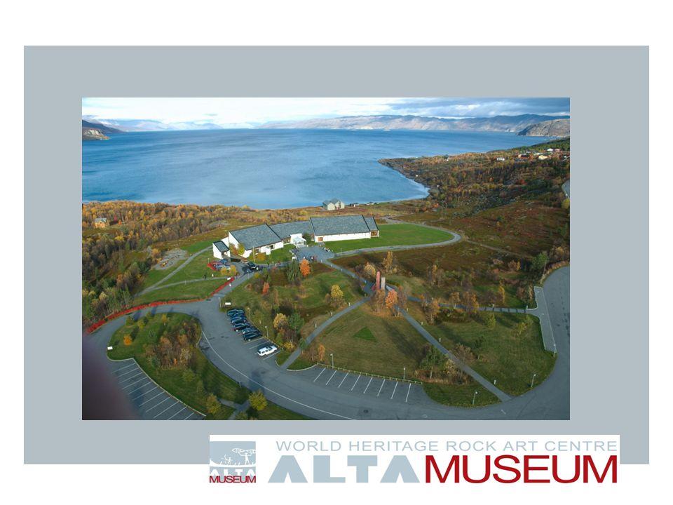 Velkommen til oss i Alta, gleder oss til å vise fram vår del av verdensarven senere i dag