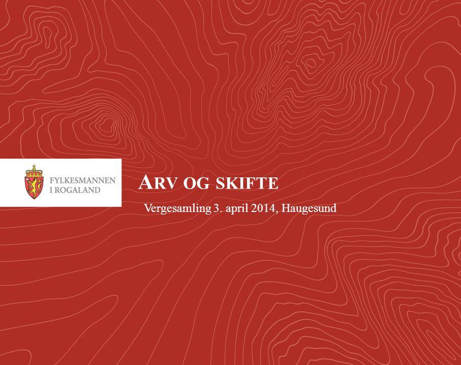 Vergesamling 3. april 2014, Haugesund