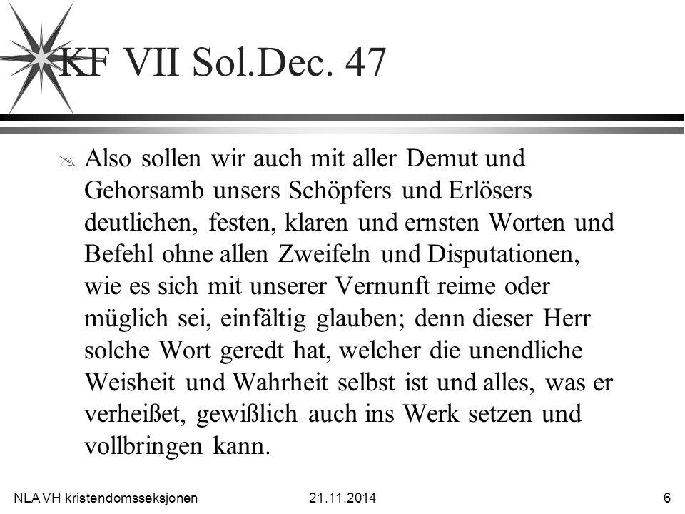 KF VII Sol.Dec. 47