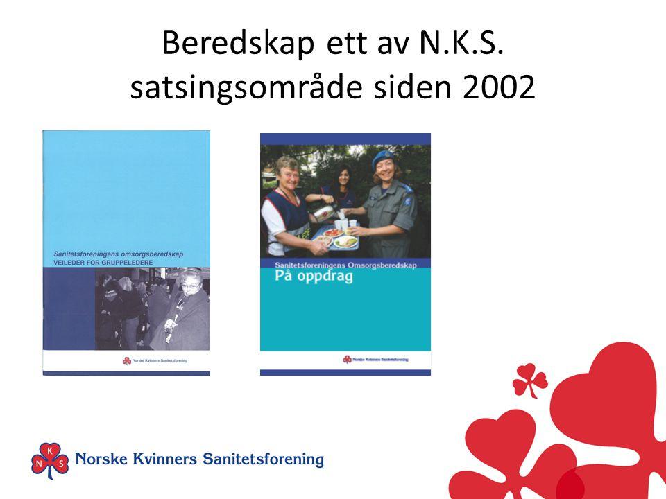 Beredskap ett av N.K.S. satsingsområde siden 2002