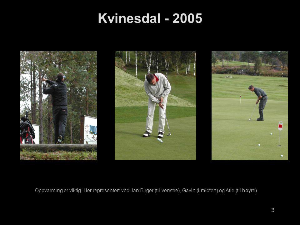 Kvinesdal - 2005 Oppvarming er viktig.