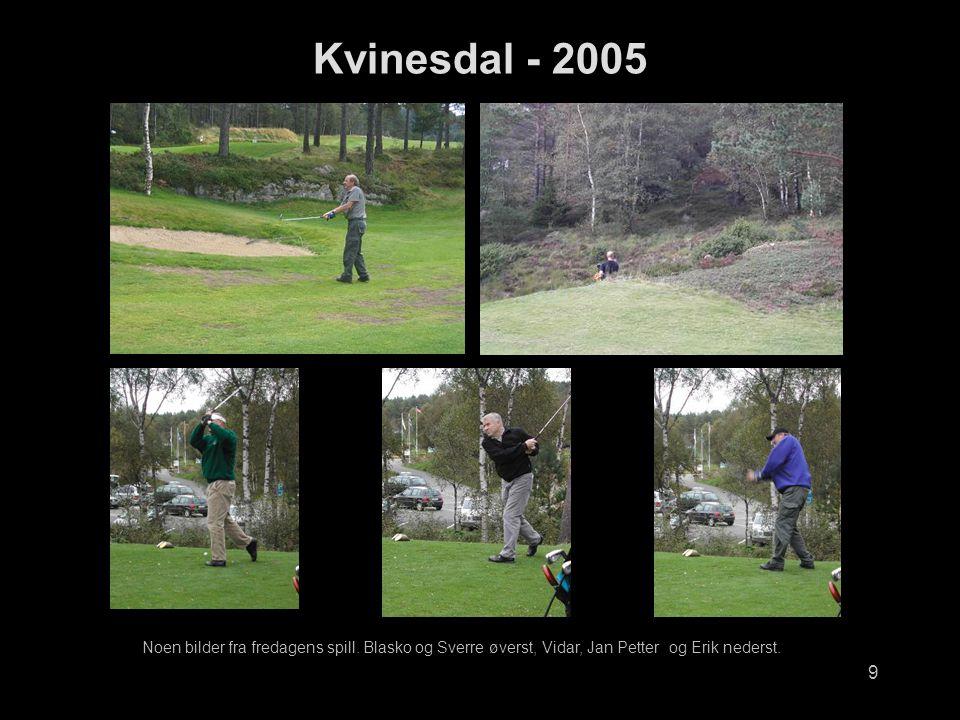 Kvinesdal - 2005 Noen bilder fra fredagens spill.