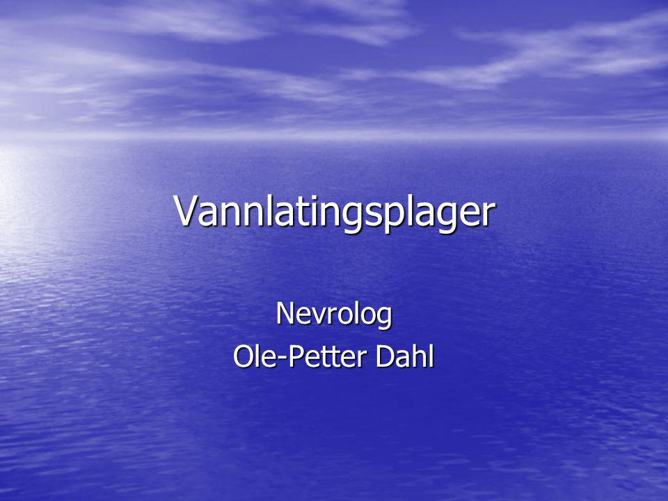 Nevrolog Ole-Petter Dahl