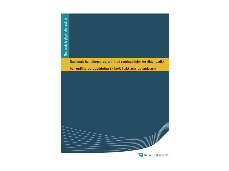 Nasjonalt handlingsprogram med retningslinjer for diagnostikk,