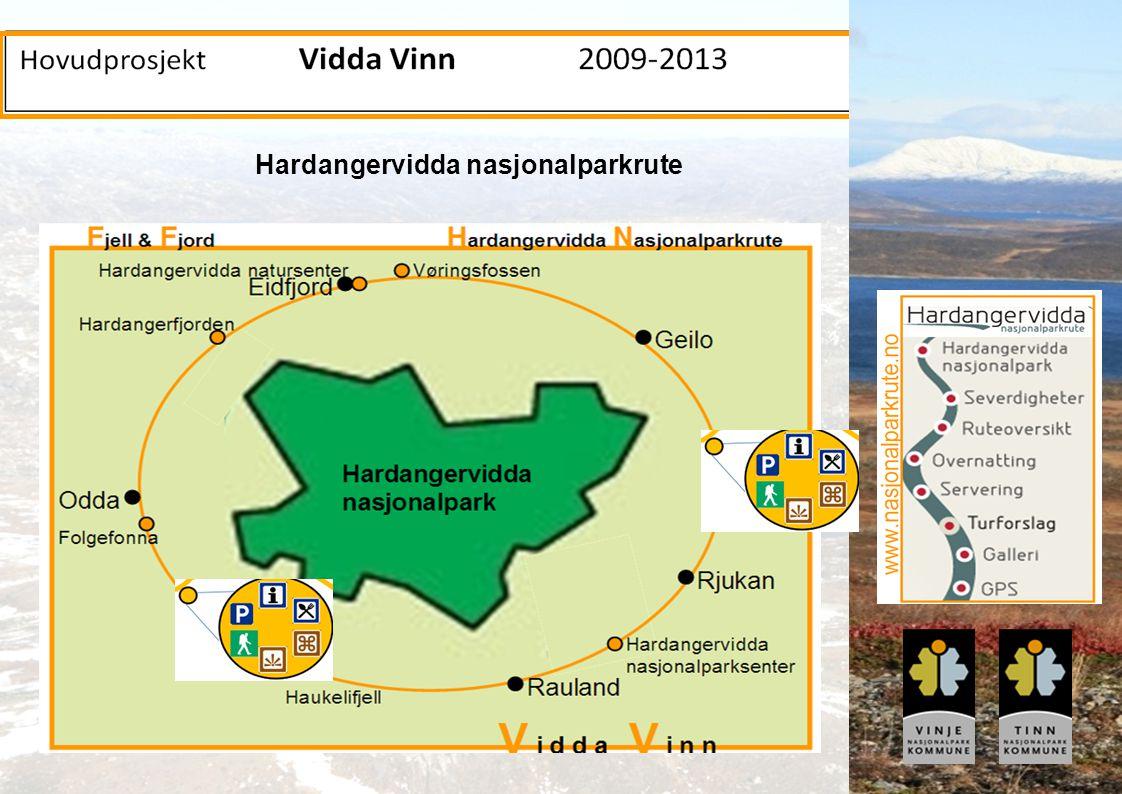 Hardangervidda nasjonalparkrute