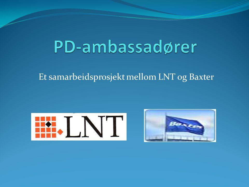 Et samarbeidsprosjekt mellom LNT og Baxter