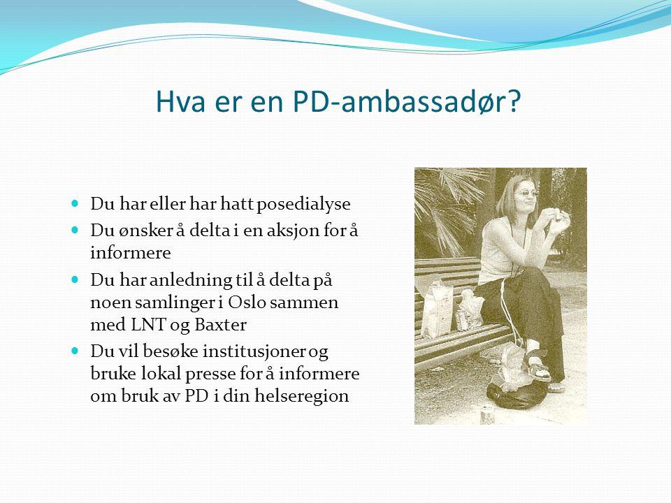 Hva er en PD-ambassadør