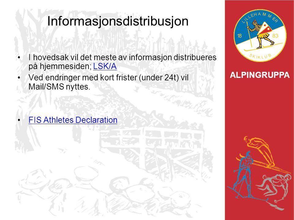Informasjonsdistribusjon