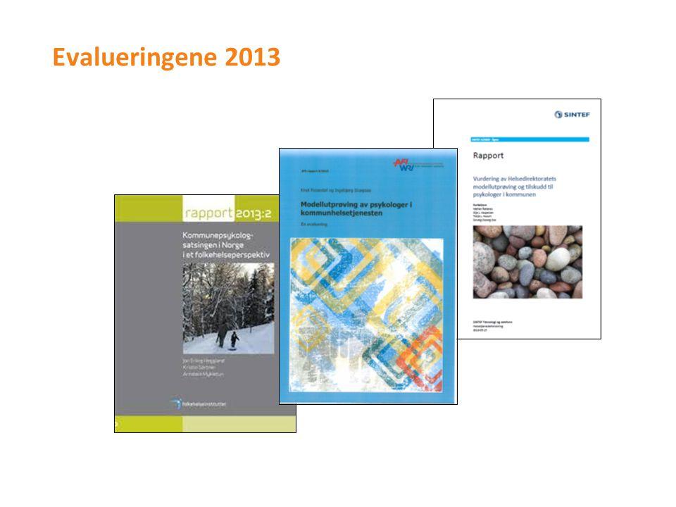 Evalueringene 2013