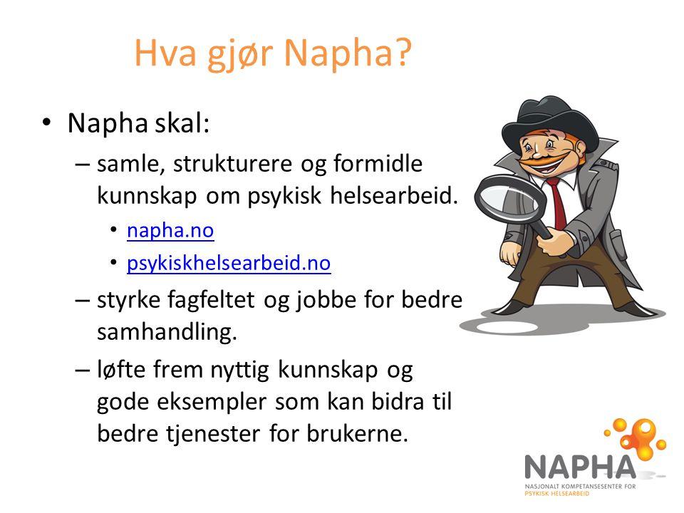 Hva gjør Napha Napha skal: