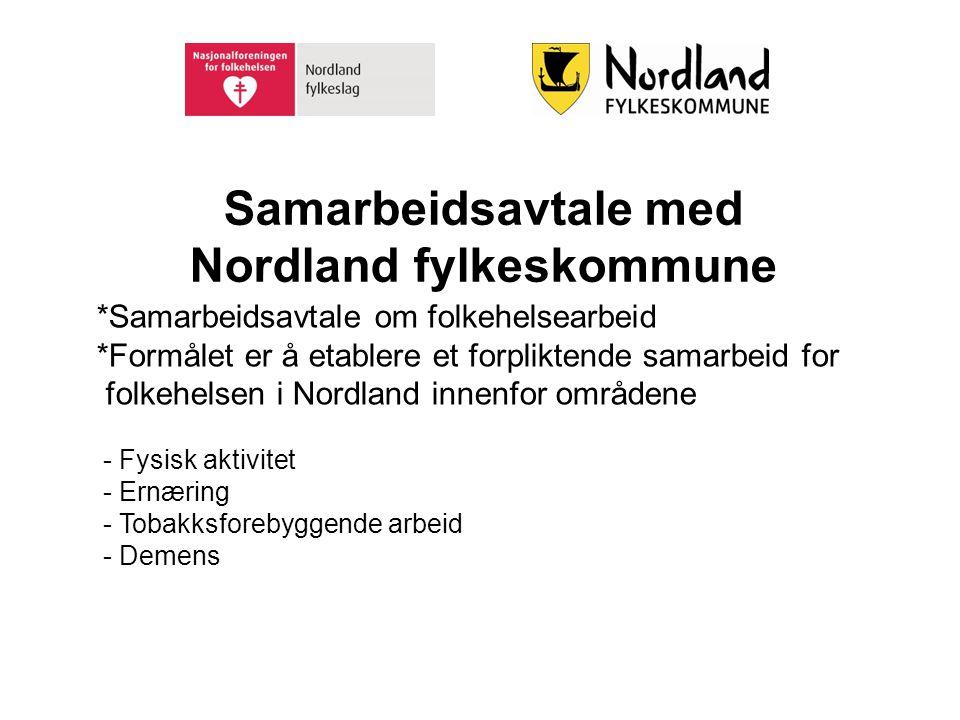 Samarbeidsavtale med Nordland fylkeskommune