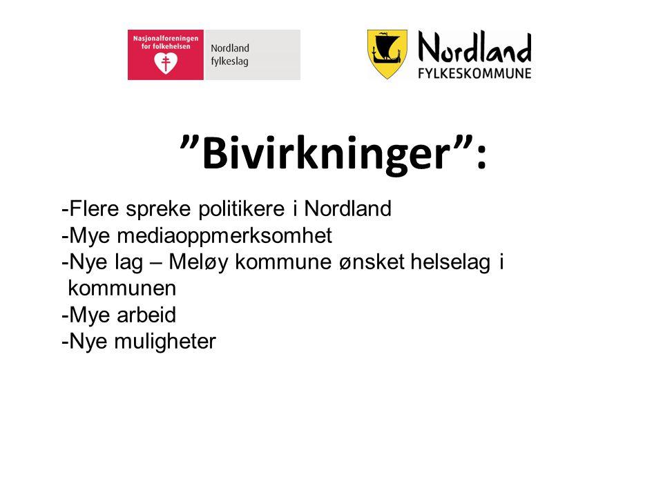 Bivirkninger : Flere spreke politikere i Nordland