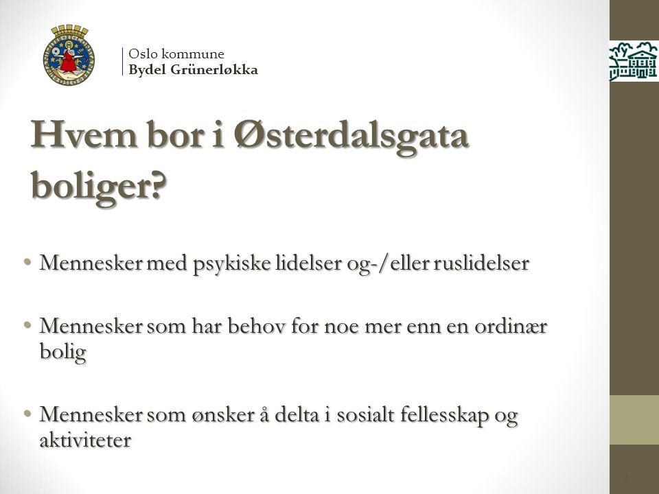 Hvem bor i Østerdalsgata boliger