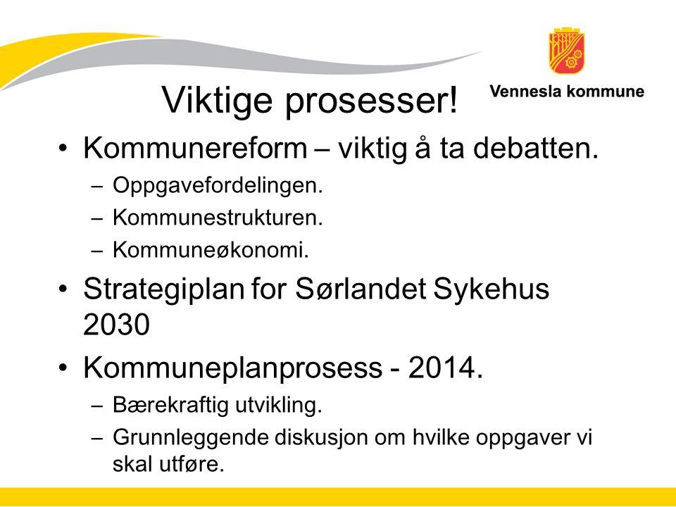 Viktige prosesser! Kommunereform – viktig å ta debatten.