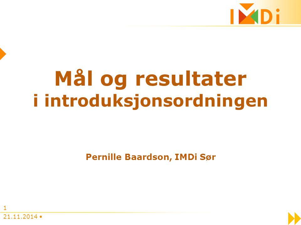 i introduksjonsordningen Pernille Baardson, IMDi Sør