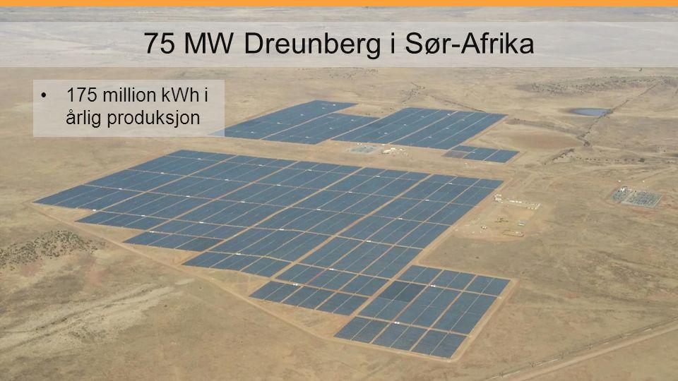 75 MW Dreunberg i Sør-Afrika