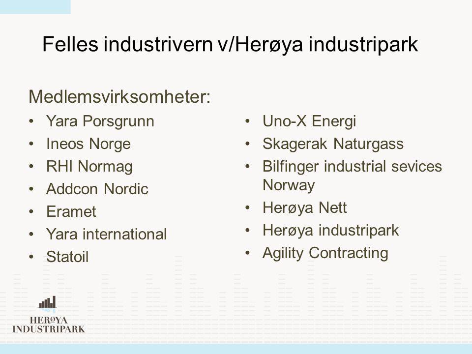 Felles industrivern v/Herøya industripark