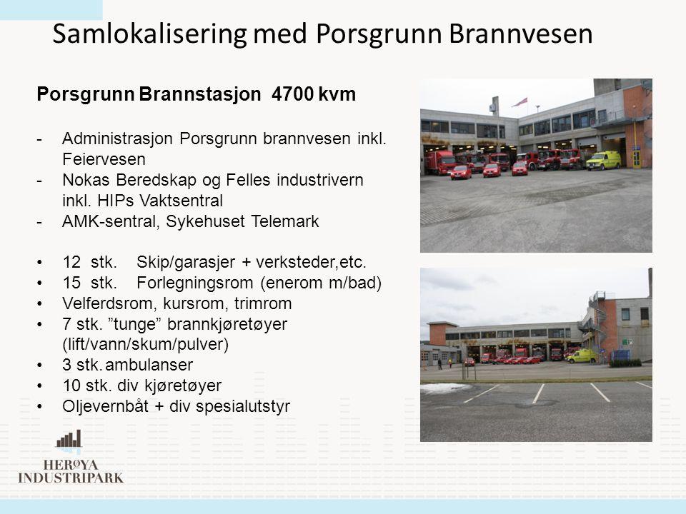 Samlokalisering med Porsgrunn Brannvesen