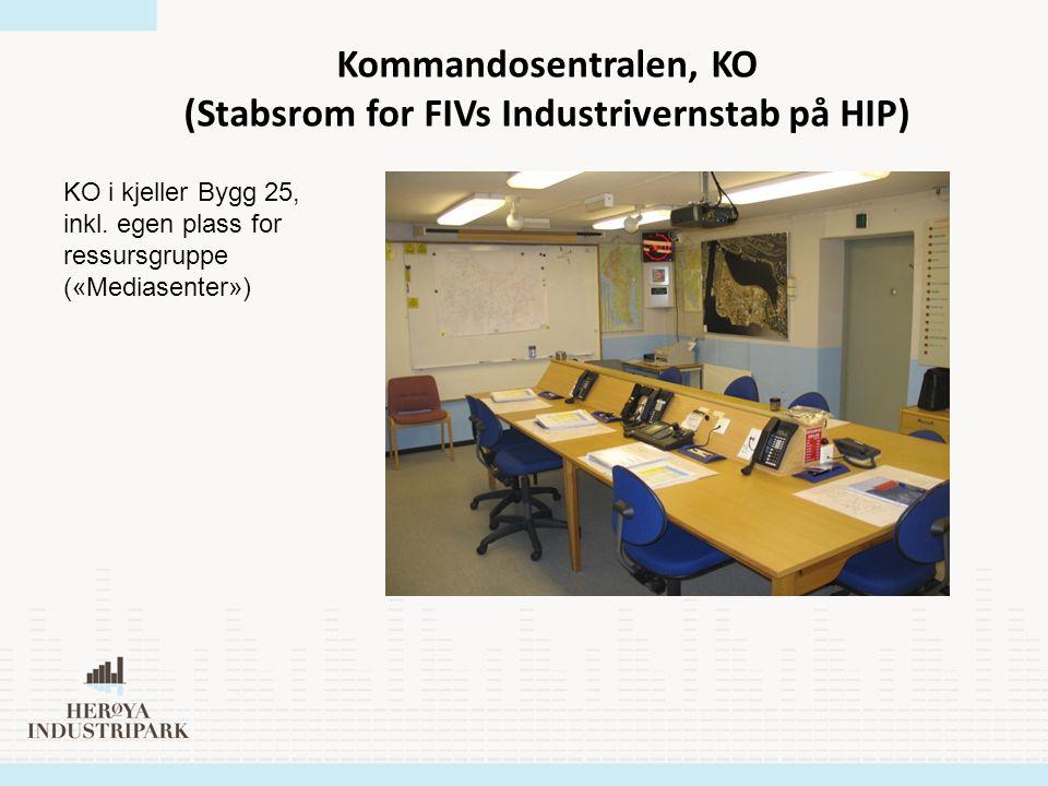 (Stabsrom for FIVs Industrivernstab på HIP)