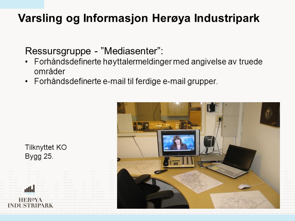 Varsling og Informasjon Herøya Industripark