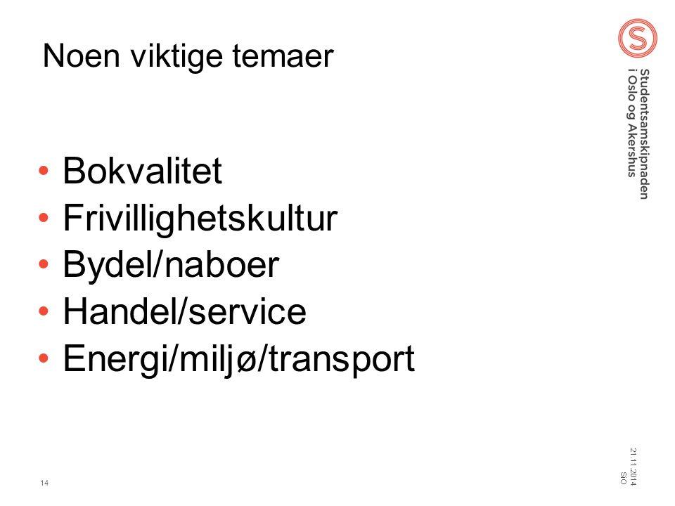 Energi/miljø/transport