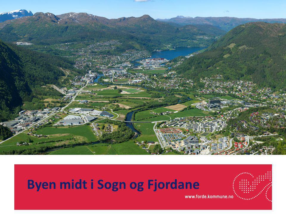 Byen midt i Sogn og Fjordane