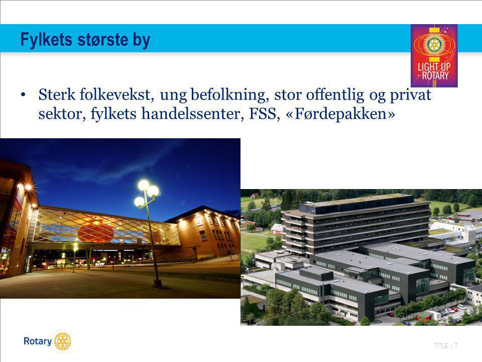 Fylkets største by Sterk folkevekst, ung befolkning, stor offentlig og privat sektor, fylkets handelssenter, FSS, «Førdepakken»
