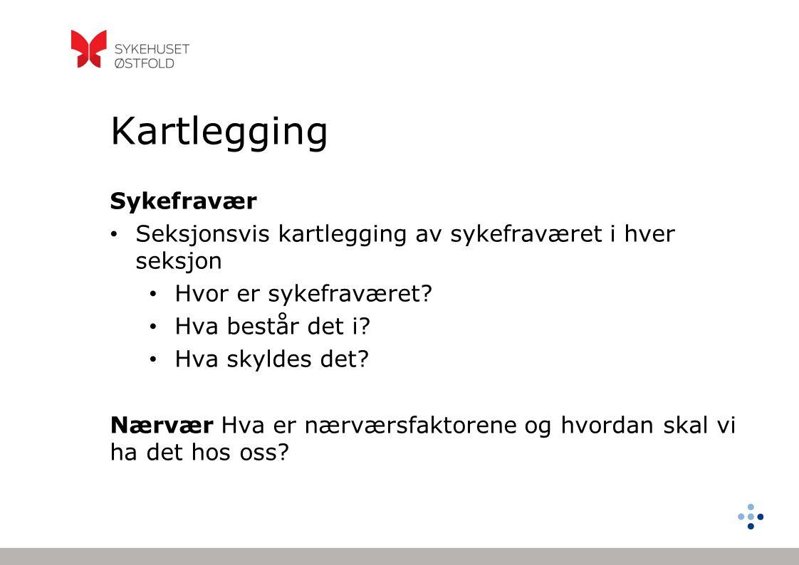 Kartlegging Sykefravær