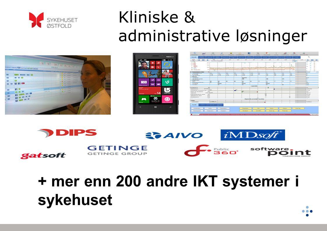 Kliniske & administrative løsninger