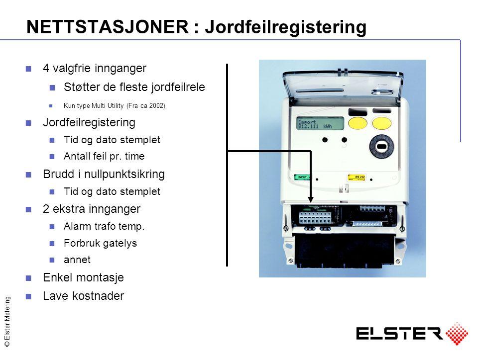 NETTSTASJONER : Jordfeilregistering