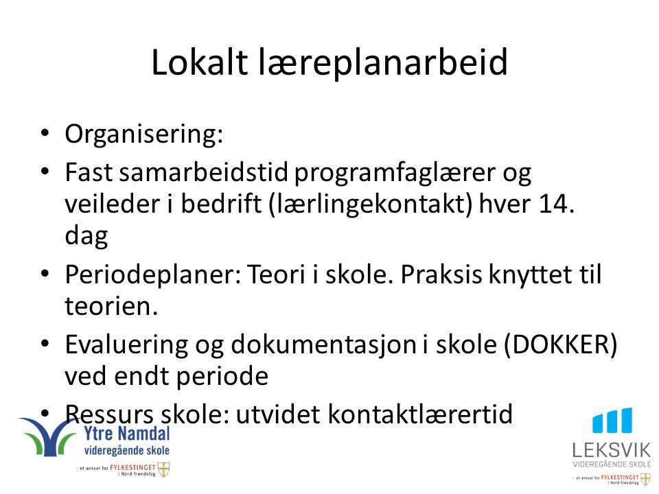 Lokalt læreplanarbeid
