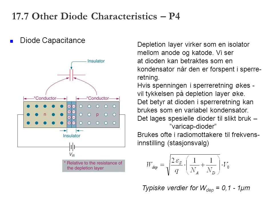 17.7 Other Diode Characteristics – P4