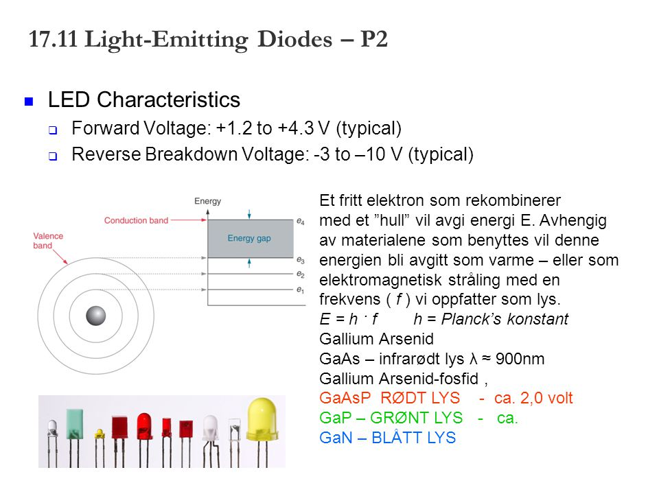 17.11 Light-Emitting Diodes – P2