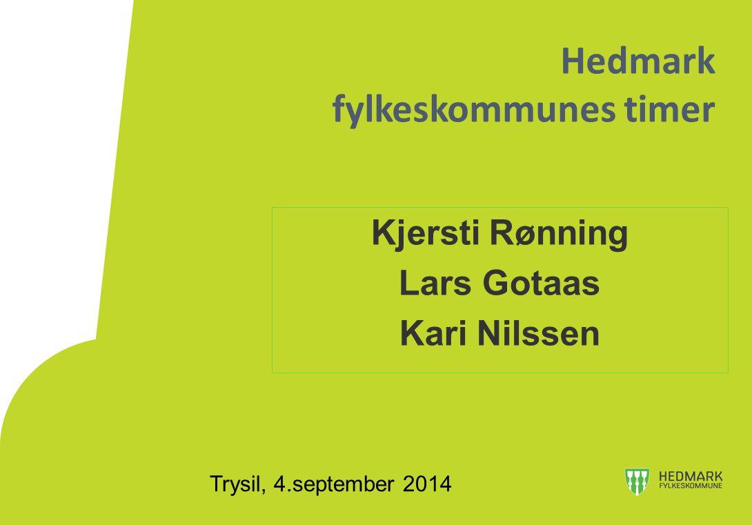 Hedmark fylkeskommunes timer