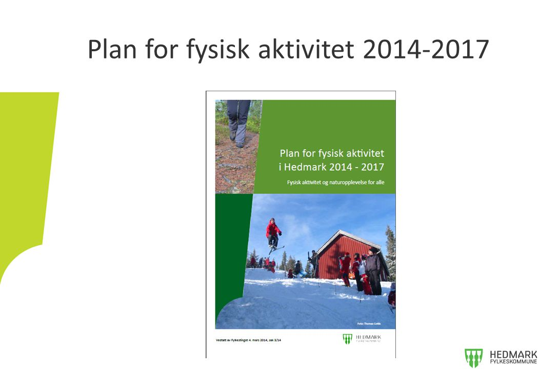 Plan for fysisk aktivitet 2014-2017