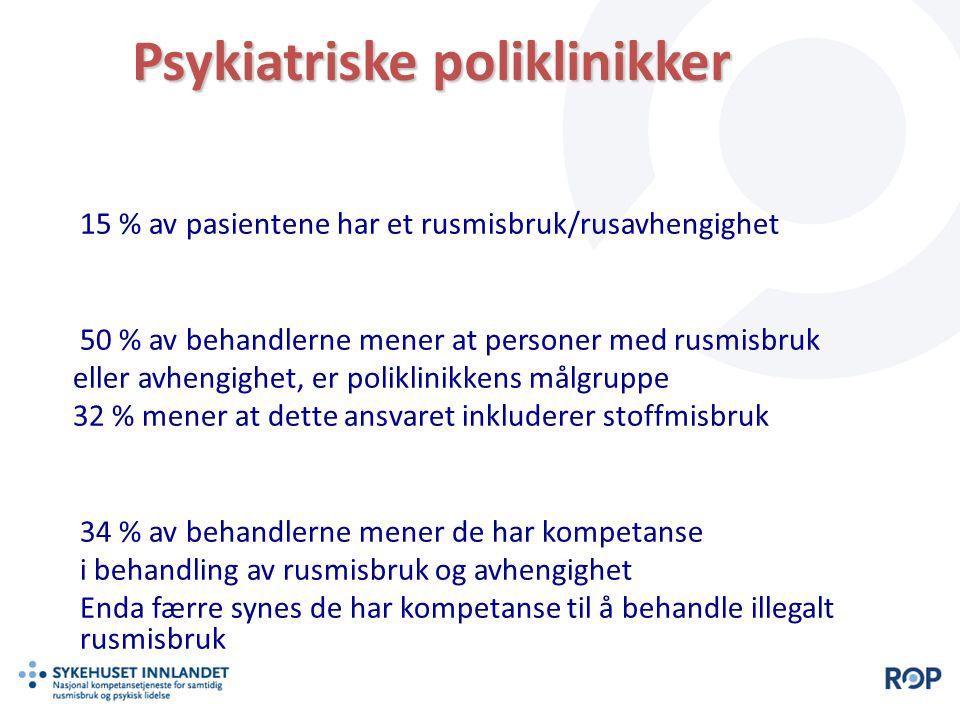 Psykiatriske poliklinikker