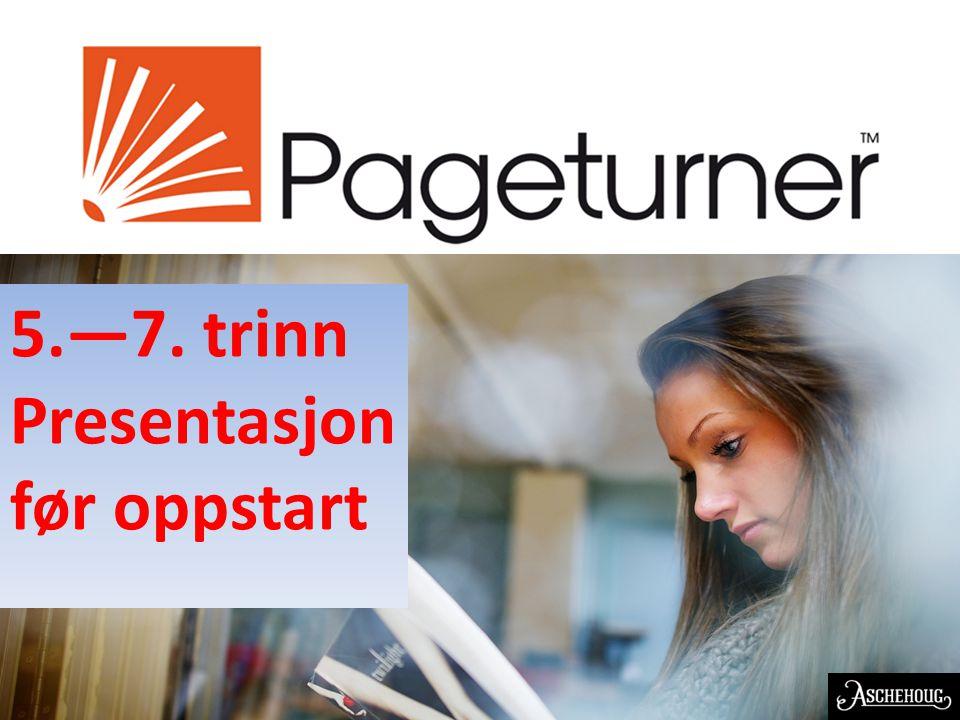 EN NORSK OPPFINNELSE 5.—7. trinn Presentasjon før oppstart