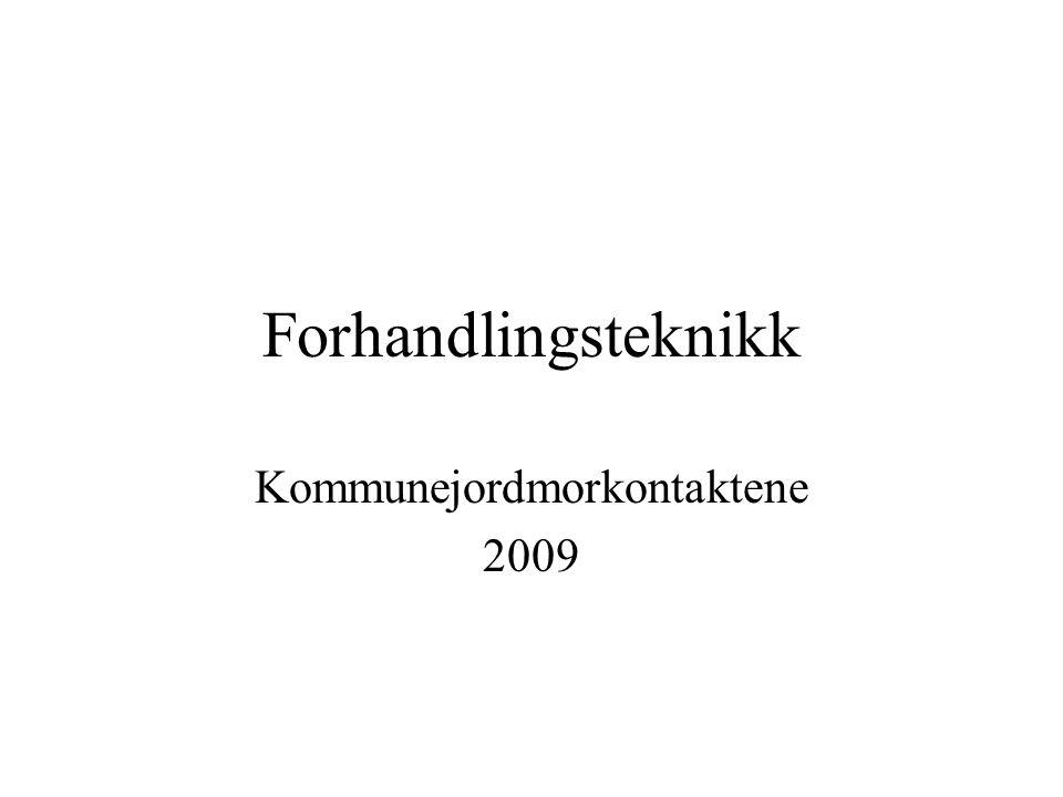 Kommunejordmorkontaktene 2009