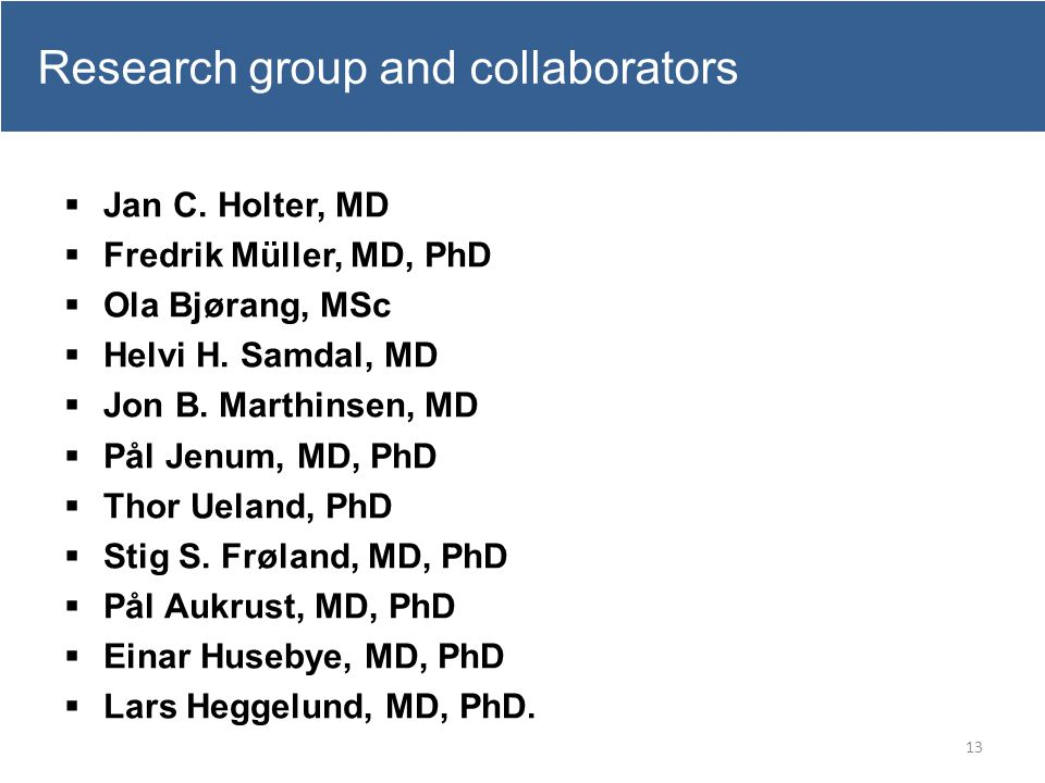 Research group and collaborators
