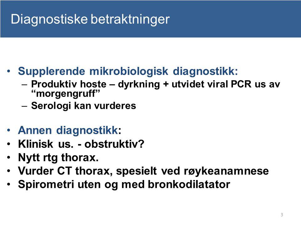 Diagnostiske betraktninger