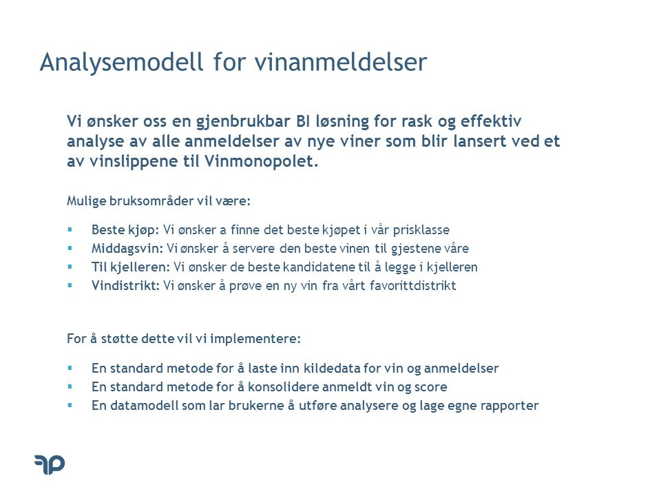 Analysemodell for vinanmeldelser