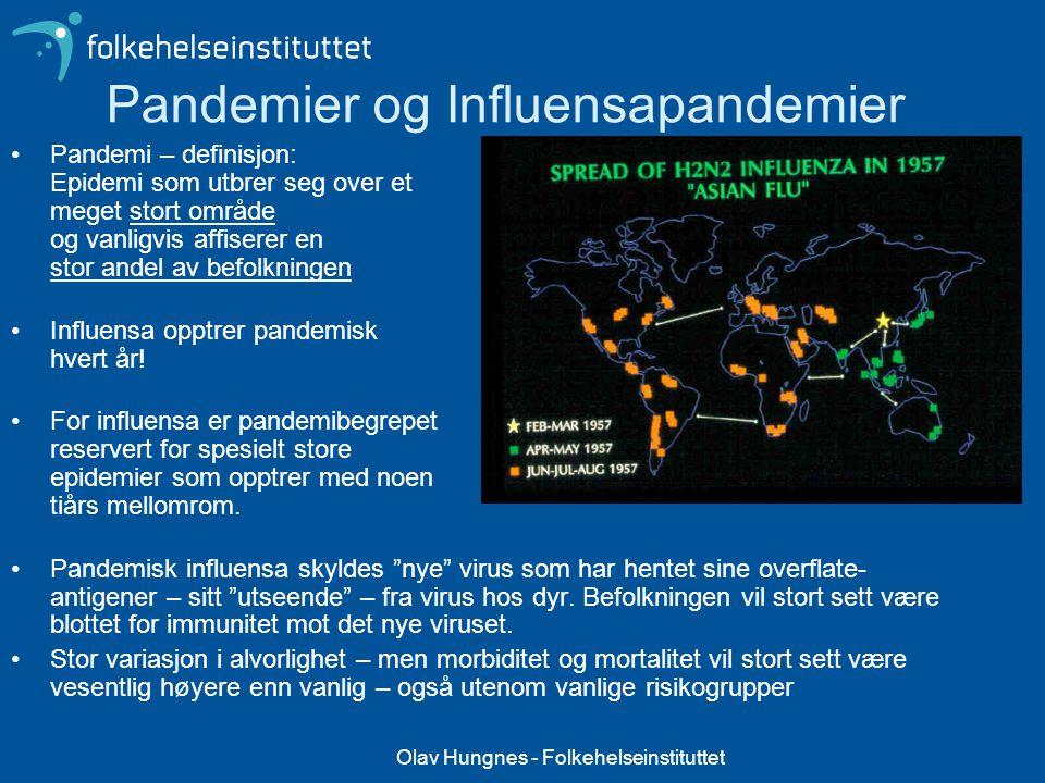 Pandemier og Influensapandemier