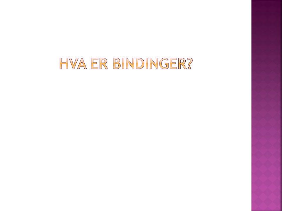 Hva er bindinger