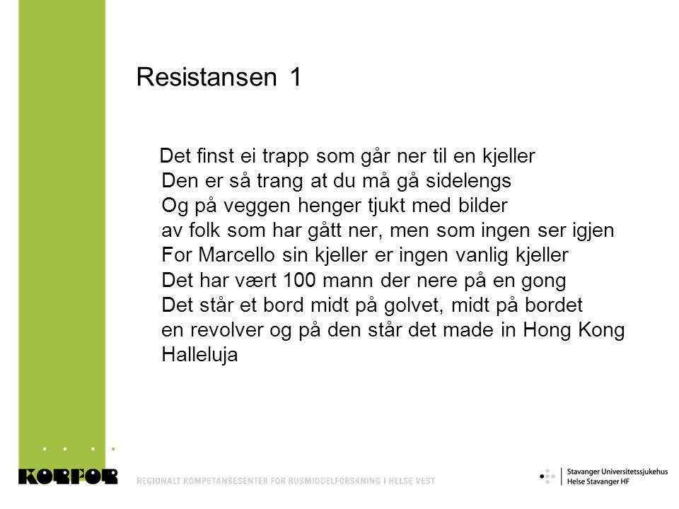Resistansen 1